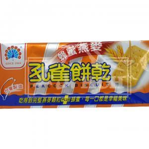 孔雀餅乾(蜂蜜燕麥) 135g